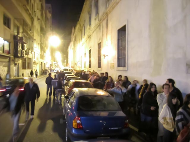 Museum Line 3am (This is just one block, it wrapped around to a second entire block)