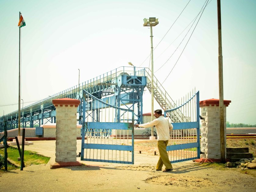 Opening the gates to India for us to pass through