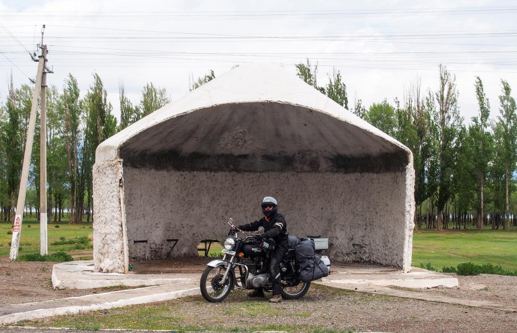 Kyrgystan lake issyk kul