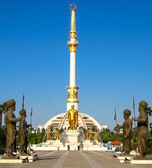 800px-IndependenceMonumentAshgabat