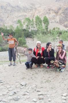 Tajikistan Pamir Highway Wakhan Enfield