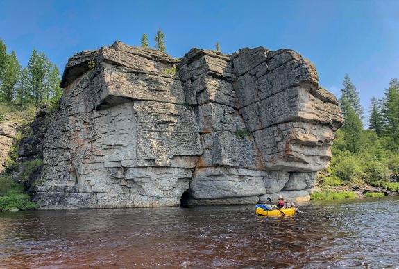 Vitim River Russia Siberia Kayaking Kayak
