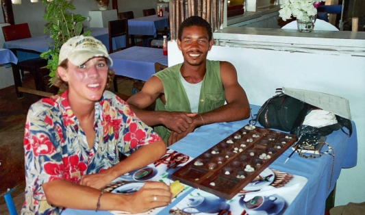 Throwback to 2001 - Lamu, Kenya
